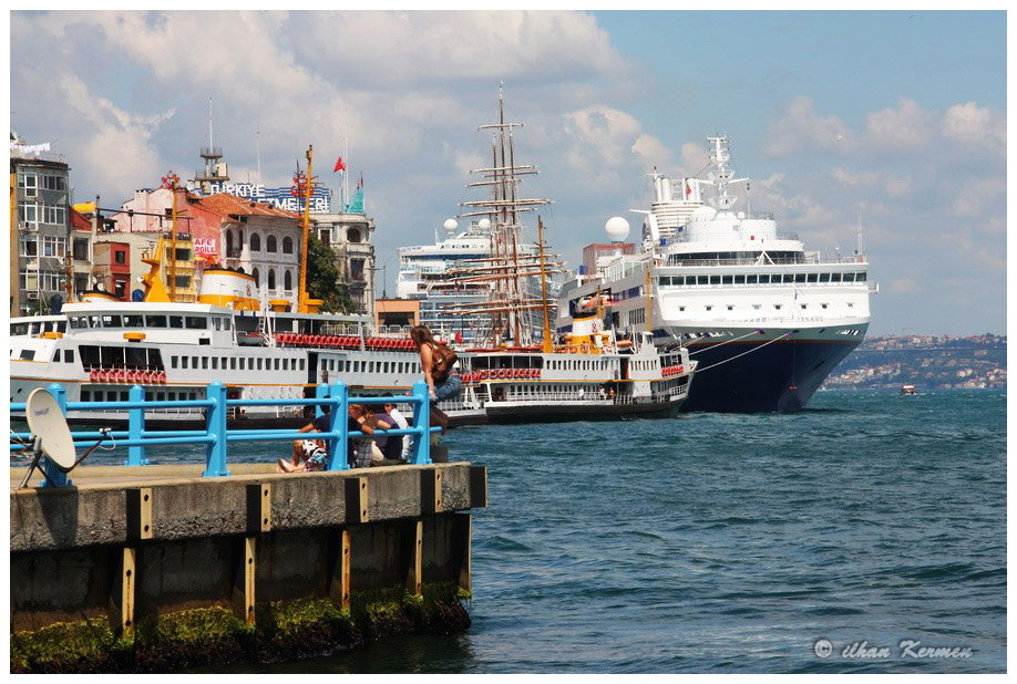 Ships in Karaköy