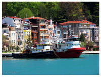 Fishery Boats in Sariyer